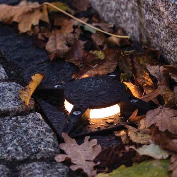 Nedfelt belysning