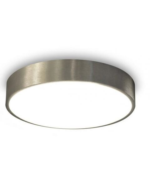 Alu 44 taklampe, diameter 43 cm, 24W LED 3000K 1800lm, dimbar, Aluminium