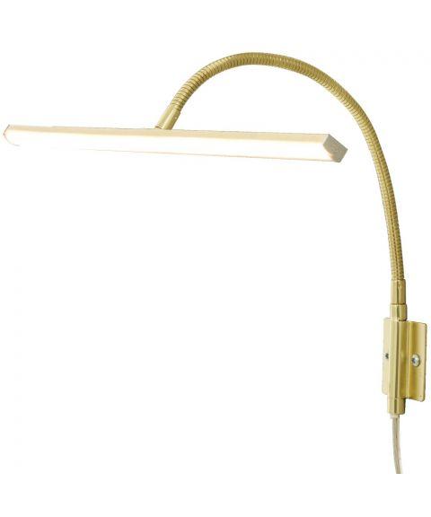 Miro dimbar LED maleribelysning, bredde 40 cm