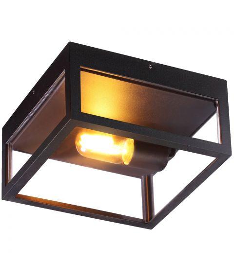 Arendal taklampe, Sort