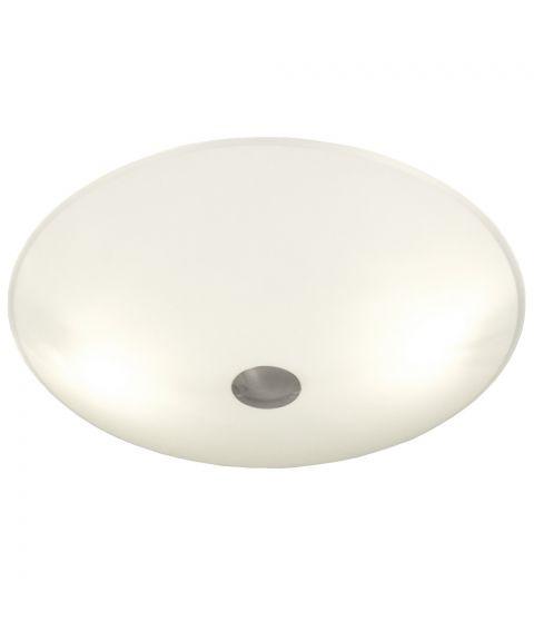Iglo plafond, diameter 34 cm, Hvit / Stål