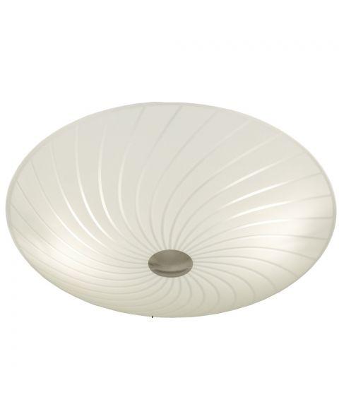 Cyklon plafond, diameter 34 cm, Hvit / Stål