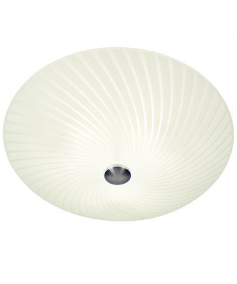 Cyklon plafond, diameter 50 cm, Hvit / Stål