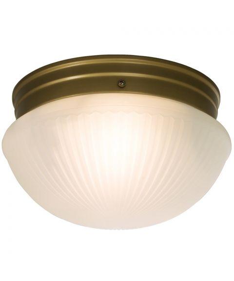 Trind taklampe, diameter 24 cm
