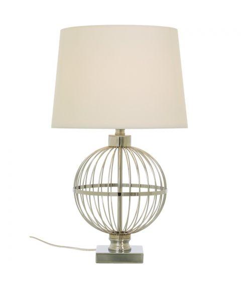 Monaco bordlampe, høyde 68 cm, Krom