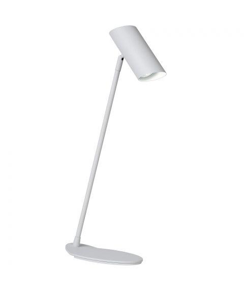 Hester skrivebordslampe, høyde 53 cm, Hvit (restlager)