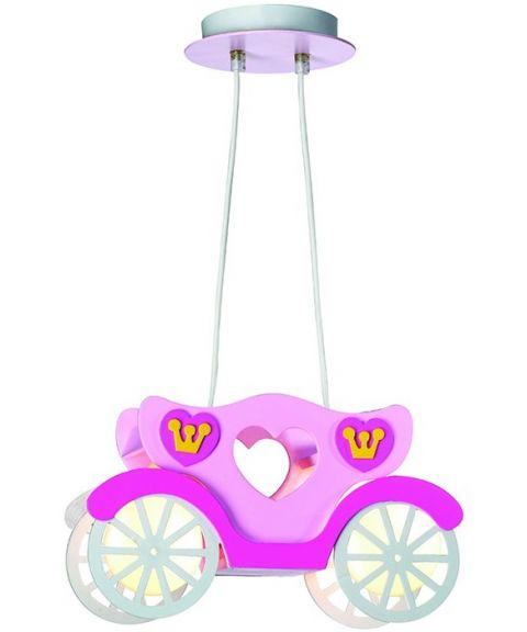Cinderella takpendel barnelampe