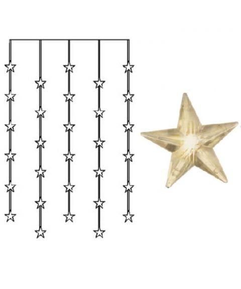 Stjernegardin 90x120 cm, LED (x30), Varmhvit 3000K