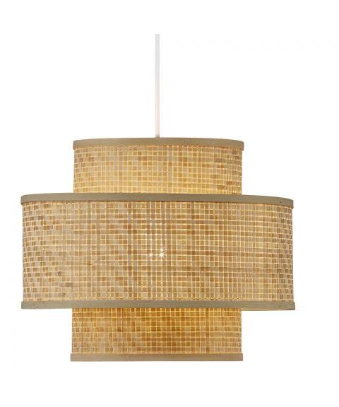 Trinidad takpendel, diameter 35 cm, Bambus