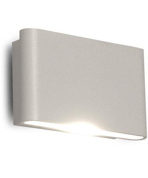 Beatrice vegglampe, lys opp og ned, dimbar 2x3W LED