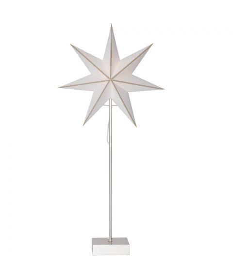Astro stjerne på fot for batteri, høyde 74 cm, LED, Stål