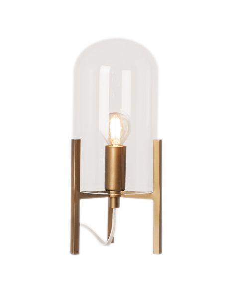 Smokey bordlampe, høyde 30 cm