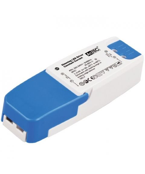 LED driver 350mA 9W (13-26V), dimbar