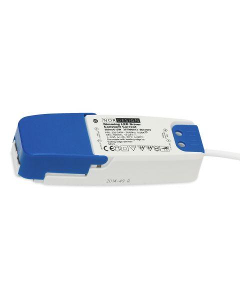 LED driver 500mA 12W (12-24V) (STD.POL) NorDesign, dimbar