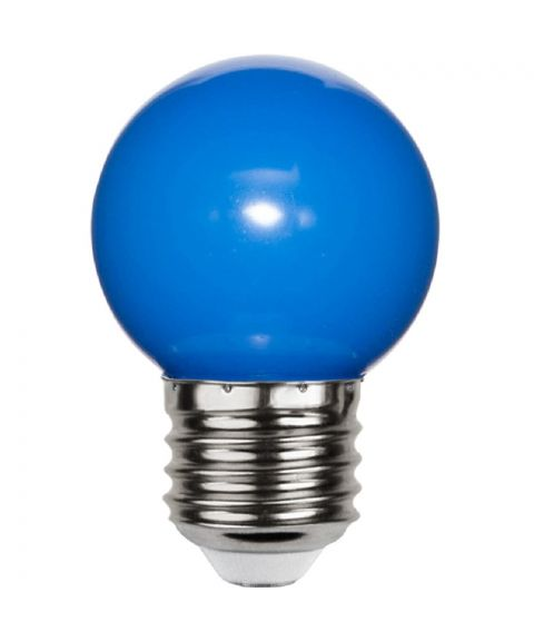 Decoration E27 Krone 1W LED, Blå