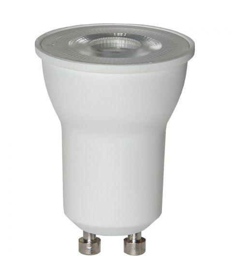 GU10 mini MR11 3000K 36° 3,6W LED 290lm, Dimbar
