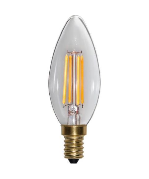 Decoration E14 Mignon Soft Glow 2100K 4W LED 350lm, Dimbar