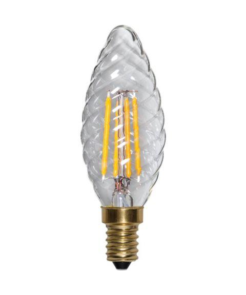Decoration E14 Mignon Twist 2100K SoftGlow 4W LED 350 lm, Dimbar