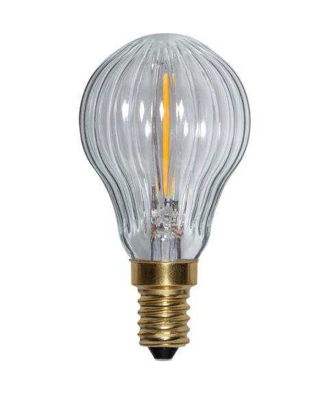 Decoration E14 P45 Soft Glow 2200K 0,8W LED 50lm, Dimbar