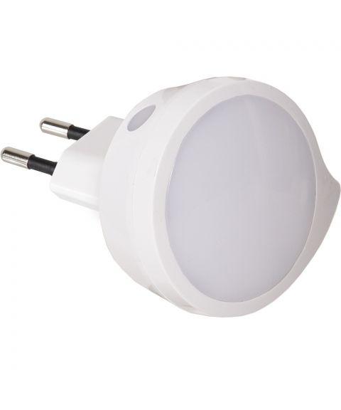 Nattlampe LED med sensor 2700K 4lm 0,3W