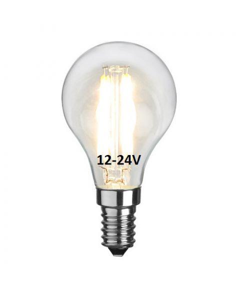 Spesialpære 12-24V(!) Decoration Illum E14 2,3W 2700K 250lm