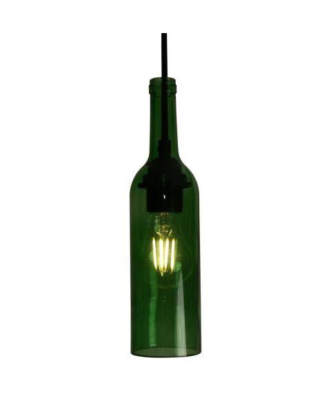 Bottle Glass, høyde 28 cm (uten oppheng)