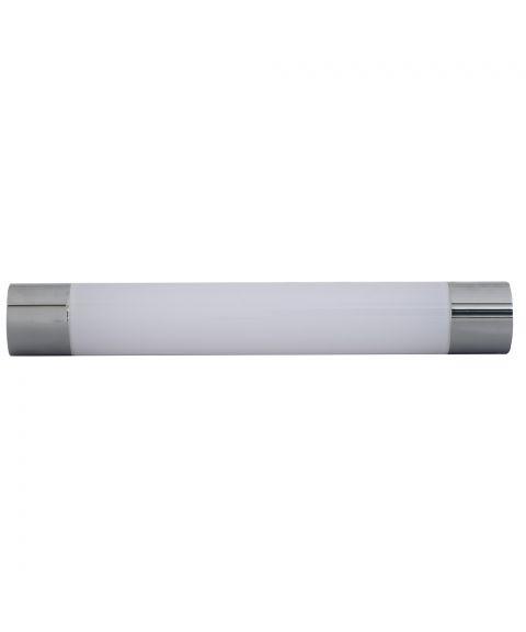 Titan 40 vegglampe med stikkontakt, 12W LED 2700K 840lm, Krom