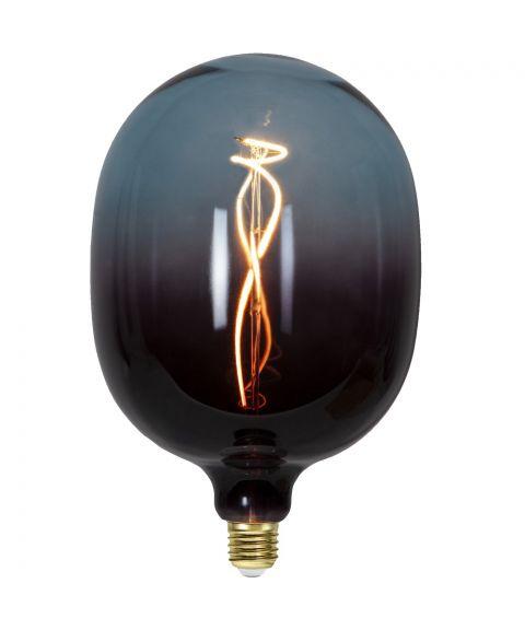 Colourmix C150 dekorpære 4W dimbar LED 72lm 2400K, Sort/Blå