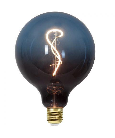 Colourmix C125 dekorpære 4W dimbar LED 58lm 2500K, Sort/Blå