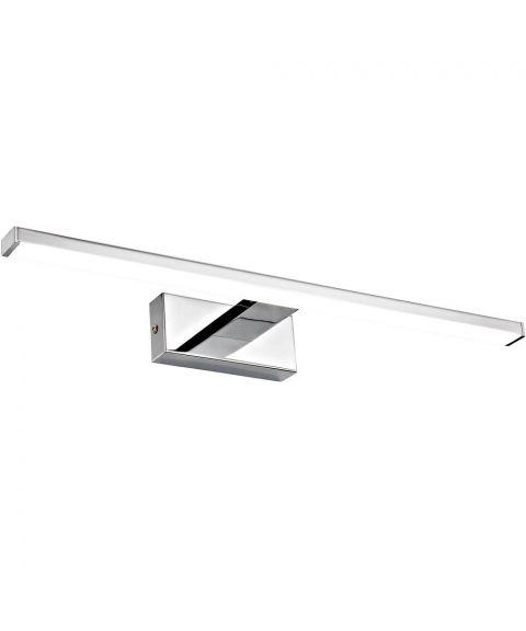 Specchio vegglampe, 30 cm, LED 2700K 280lm, Krom