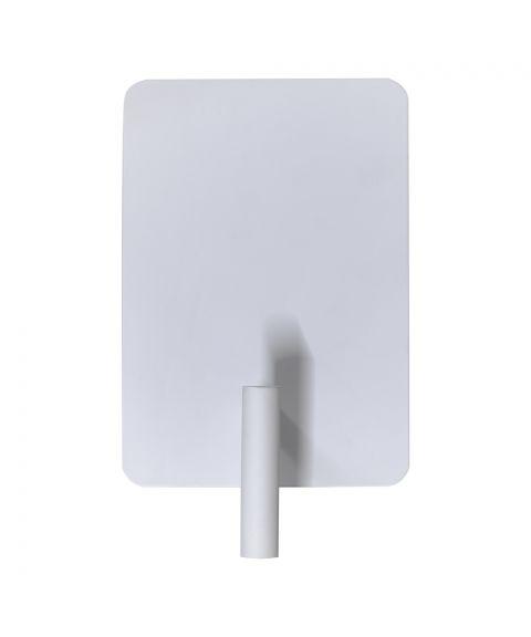 Alison vegglampe (fast montering), 2 USB-utganger, Hvit