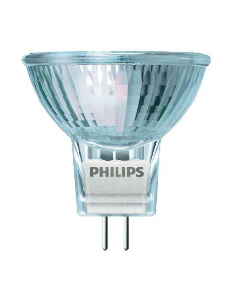 Halogen Philips GU4 MR11, 35W 12V, 430 lm, 3000k, 30°, Dimbar