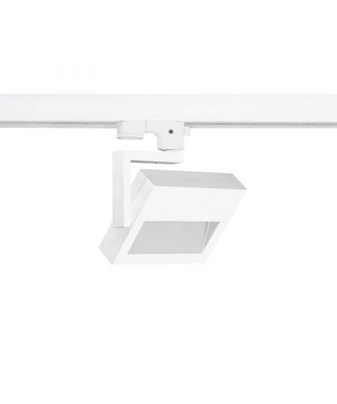 Marcato 100º spot for Global 3T-skinne, dimbar 17W LED, 100° spredning
