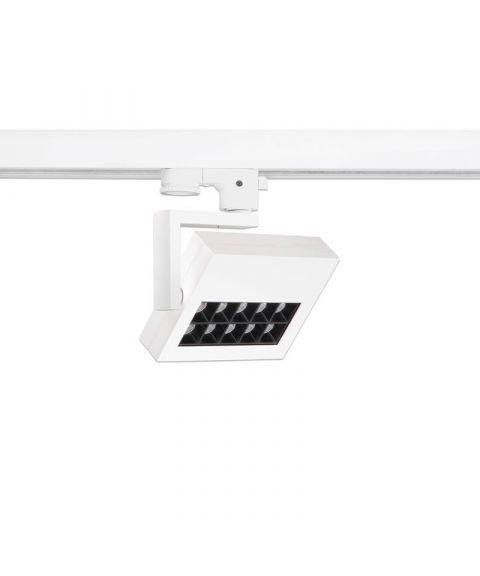 Marcato 30º spot for Global 3T-skinne, dimbar 17W LED, 30º spredning
