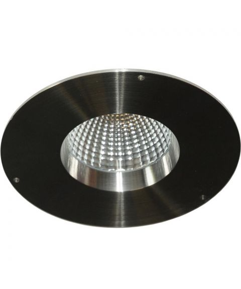PRO downlight, 9W LED, AISI 316 syrefast stål, diameter 18 cm, dimbar