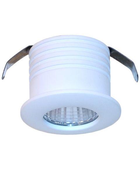 Windsor mini downlight, 1W LED, 20º spredning, 2700K, IP44