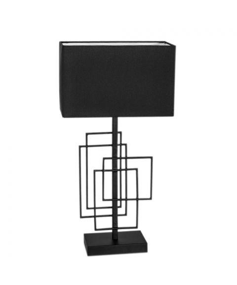 Paragon bordlampe, høyde 52 cm, Sort