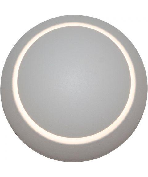 Eclipse vegglampe, dimbar LED, diameter 10 cm