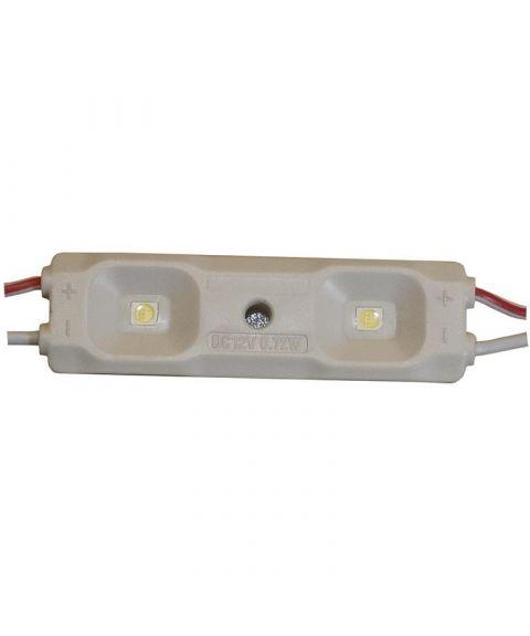 LED Modul 0,72W, Hvit, Kaldt lys 7000-8000 kelvin
