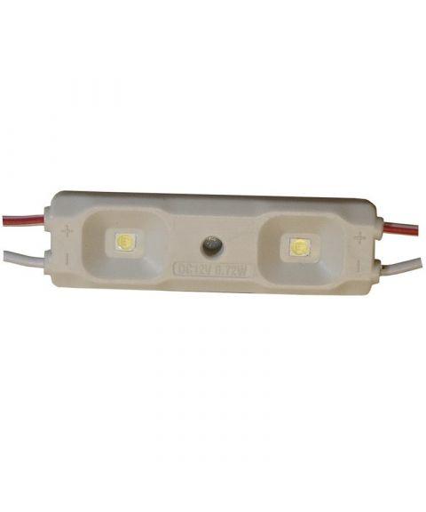 LED Modul 0,72W, varmhvit 3000 kelvin