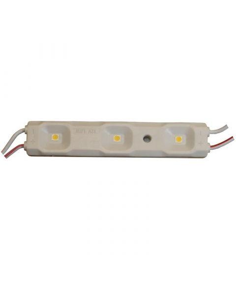 LED Modul 1W, Varmhvit 3000 kelvin