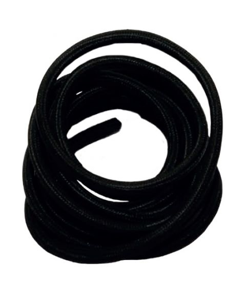 Stofftrukket ledning 3 meter 2x0,75mm² rund