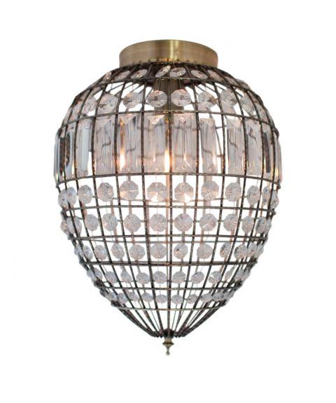 Amadeus taklampe, diameter 30 cm, Antikk