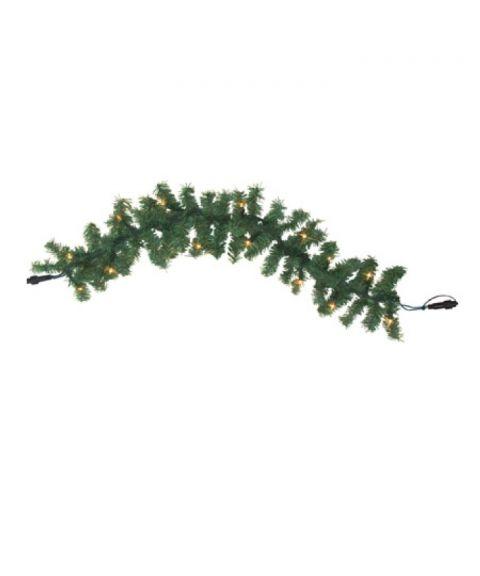 [2] Utvidelse System LED - Girlander, 600 cm, LED (x100), Grønn med Varmhvitt lys