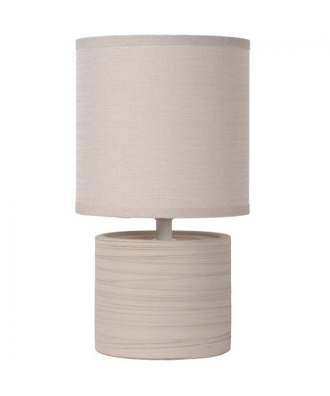 Greasby bordlampe, høyde 26 cm, Kremfarget (restlager)