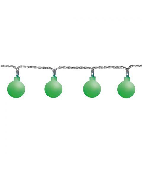 Berry slynge, 7 meter, LED (x50), Grønn