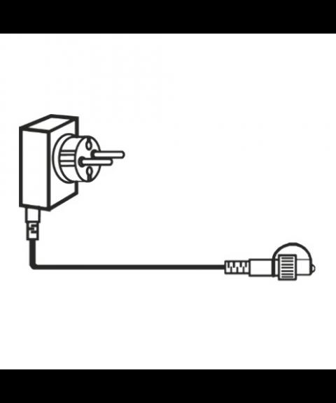 [1] Start System 24, Transformator 9,6W (max), 150 cm ledning, Sort