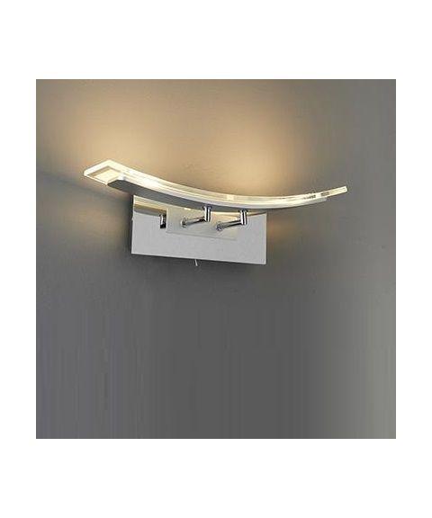 Marvin vegglampe, 2 x 5W LED, bredde 40 cm, Dimbar