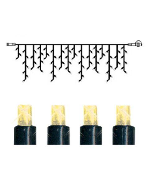 [2] Utvidelse System Decor - Lysgardin 400x40 cm, LED (x140), sort kabel, Varmhvit