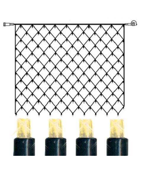 [2] Utvidelse System Decor - Lysnett 200x150 cm, LED (x100), Sort kabel, Varmhvit